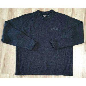 Harley-Davidson Mens Wool Blend Gray Sweater XL